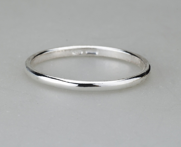 Ring 1 Silver 925‰ Engagement Incision AN0009AGS