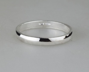 Ring 1 Silver 925‰ Engagement Rings Incision AN0056AGS