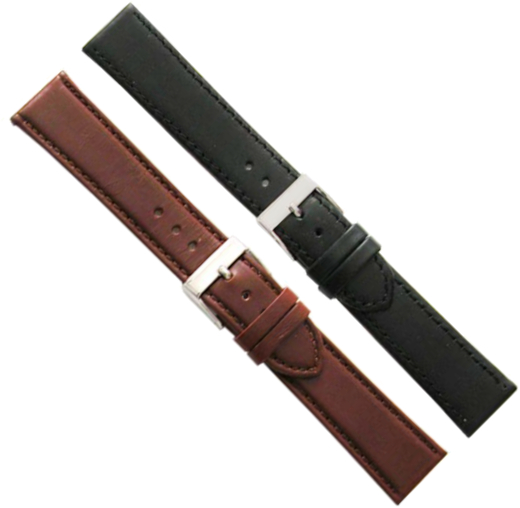 LEATHER WATCHSTRAP BIGHT 18MM 694-18