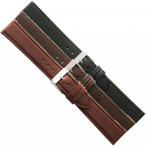 LEATHER WATCHSTRAP BIGHT 18MM 694SL-18