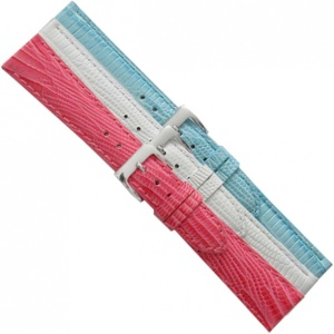 LEATHER WATCHSTRAP BIGHT 18MM 701-18