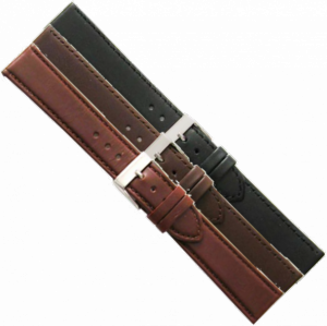 LEATHER WATCHSTRAP BIGHT 20MM 694SL-20