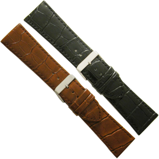 LEATHER WATCHSTRAP BIGHT 26MM 549/S-26