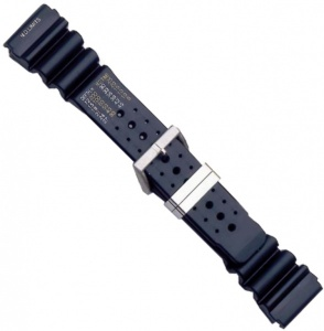 RUBBER SCUBA DIVERS BIGHT 24MM WATCHSTRAP 895SN-24