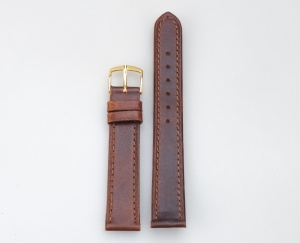 Brown Leather Woman Man Brown 16 mm 003-16