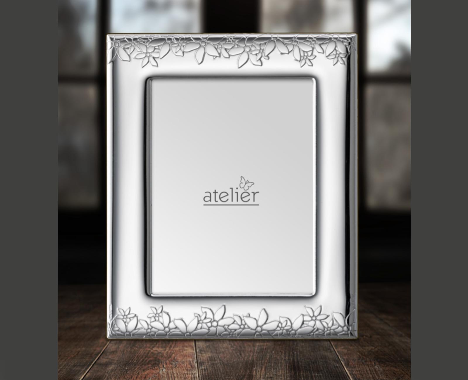 Atelier Cornice Portafoto Argento Ref. AE0116 9x13 13x18