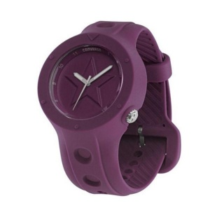 Watch Unisex CONVERSE ROOKIE Just Time Silicone Purple R1151100026