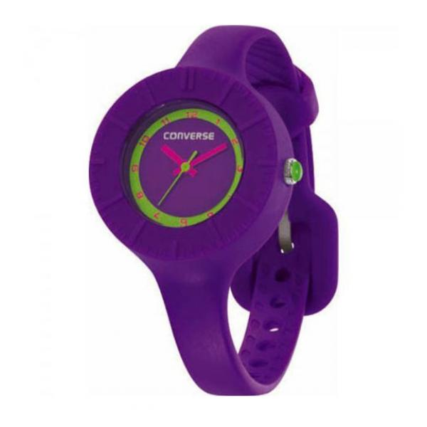 Watch Unisex CONVERSE SKINNY Just time Silicone Purple R115103526