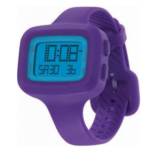 Watch Unisex CONVERSE UNDERSTATEMENT Chronograph Digital Silicone Purple R1151104029